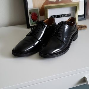 & Other Stories Leather Oxford Shoes.